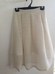 Cream skirt, $10. Stratford Cairns City Preview