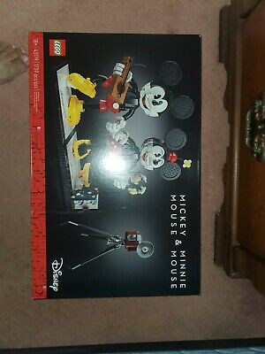 LEGO Disney: Mickey Mouse & Minnie Mouse Buildable Characters (43179)