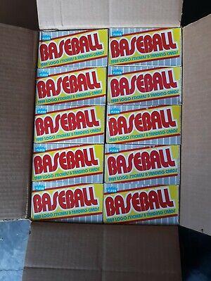 1989 FLEER  Baseball 36 Pack BOX
