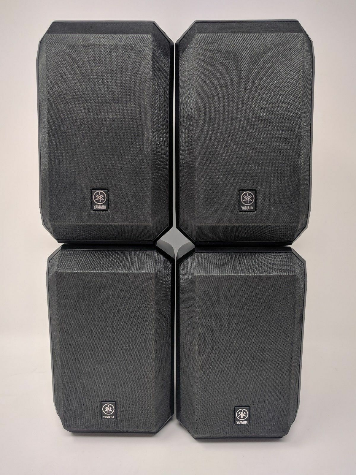 70f530cd5 4 Yamaha Surround Satellite Speakers Ns-ap2600s Black - Great B42 for sale  online