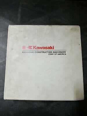 Kawasaki 115ziv Wheel Loader Shop Manual