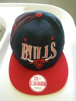 NEW ERA 59FIFTY MEN SIZE CAP CHICARGO BULLS FITTED HAT BASKETBALL Maribyrnong Maribyrnong Area Preview