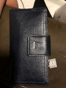 Brand New Fossil Security Wallet