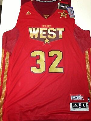 2011 NBA All Star The West #32 Blake Griffin Adidas Swingman Jersey XL Clippers