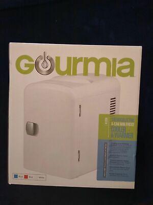 Gourmia Portable Thermelectric 6 Can Mini Fridge Cooler & Wa