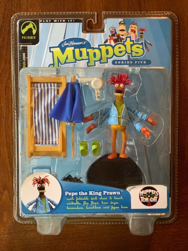 Muppet Palisades Figure Pepe Prawn New