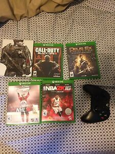 Selling Xbox one controller and games
