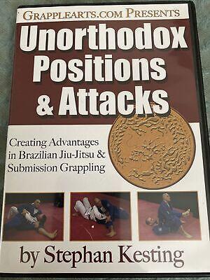 Unorthodox Positions & Attacks Stephen Kesting DVD Jitsu MMA BJJ Jiu Jitsu B344