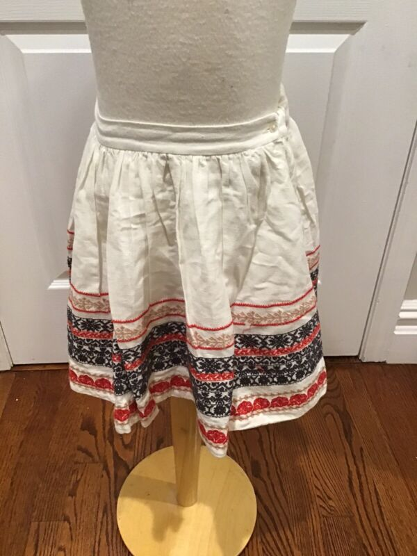 Bonpoint Embroidered Skirt 4