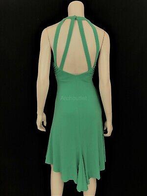Back High Low Dress (VICTORIAS SECRET MODA HIGH LOW OPEN BACK HALTER EVENING JERSEY DRESS M MEDIUM)