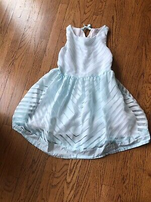 Girls Size 10 Dressed Up by GYMBOREE Dress Pink White Easter  EUC!