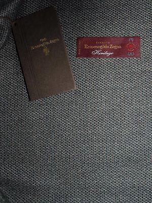 Ermenegildo Zegna Fabric wool men's jacket Heritage 8 2/12ft for sale  Italy