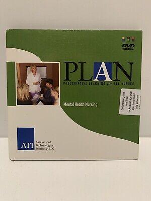 Plan Prescriptive Learning For All Nurses Mental Health DVD New Sealed