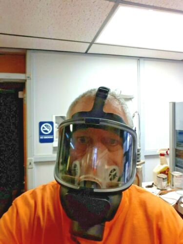 S.E.A. (Safety Equipment Australia) SMF Full Facepiece Respirator Gas Mask