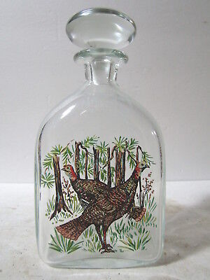 SUPER RARE Wild Turkey 1955 Crystal Aniversary Bottle 1955 1st One Made by WT