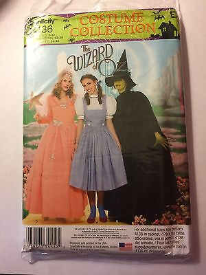 Glinda Dorothy Wicked Witch Pattern Adult Sz 6-12 Simplicity](Glinda Wicked Costume)
