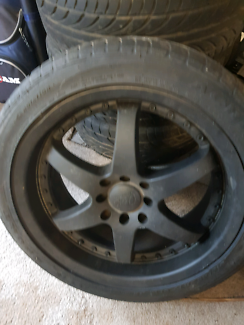 Set of 4 'Osaka racing wheels' - multi-stud/4x114