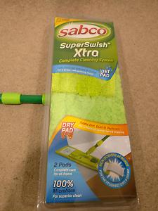 SABCO Superswish 100% Microfibre Floor Melbourne CBD Melbourne City Preview