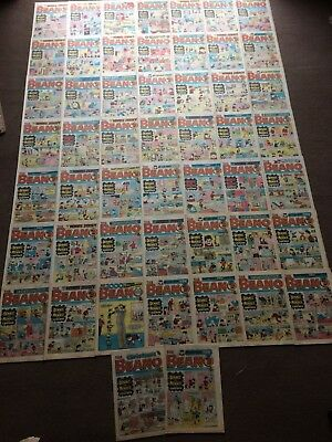 1980 BEANO Comics x 51   for sale  Sidcup