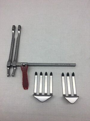 Aesculap Bv510r Scoville-richter Laminectomy Retractor Set