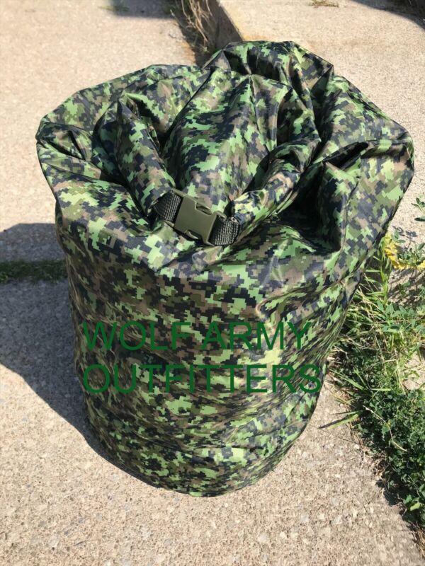CadPat Camo Nylon Dry Bag Waterproof Military Style New NOT Original