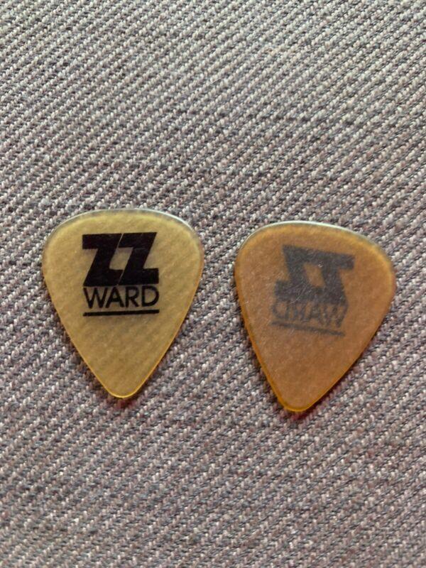 ZZ WARD 2020 Tour Issue Guitar Pick Plectrum Stage Live Transparent