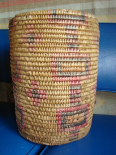 Jicarilla Apache Basket - Large, still has color