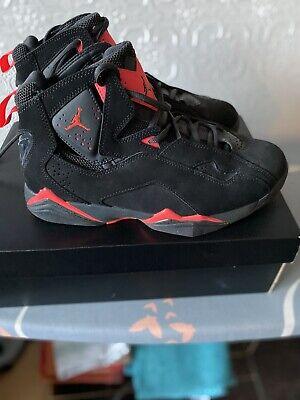 Nike Air Jordan True Flight Black Infrared Size UK 6.5