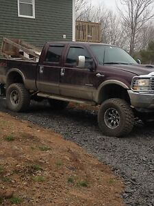 Lifted king ranch