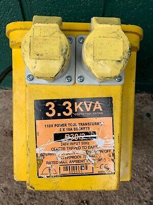 110V Transformer 3.3KVA and Extension Lead