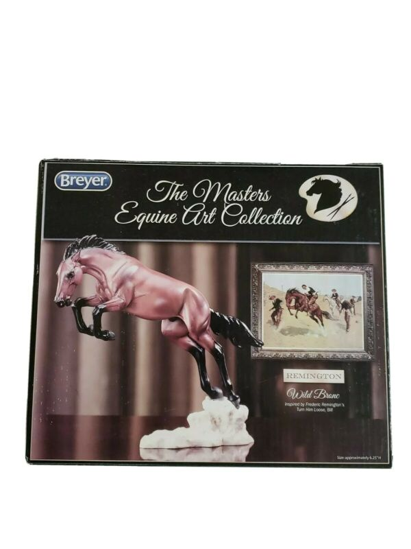 Breyer The Masters Equine Art Collection Remington Wild Bronc  #8264 New In Box