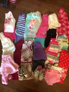 Girls size 2 fall and winter clothes