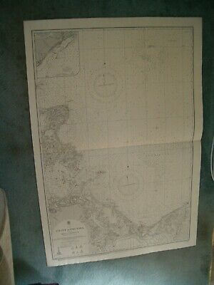 Vintage Admiralty Chart 2366 BALTIC - COAST OF PRUSSIA - SHEET 2 -  1913 edn