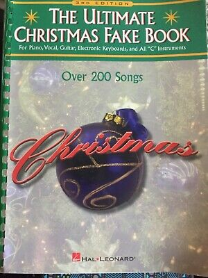 The Ultimate Christmas Fake Book: for Piano, Vocal, Guitar, Electronic Keyboard  ()