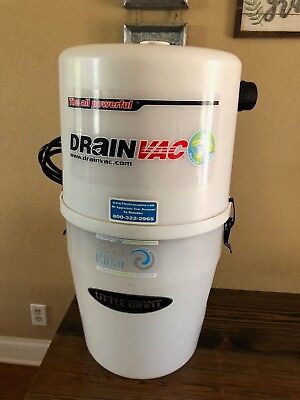 - Drainvac Central Vacuum System Garage Shop Canister Only model C15LIMITE