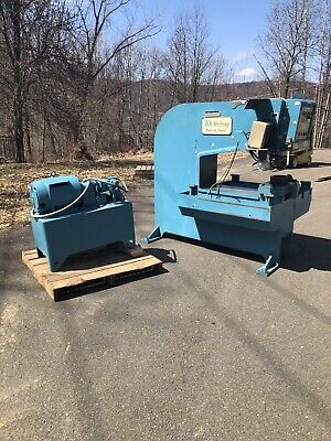 W.a. Whitney 30 Ton 635-a Punch Press Sheet Metal Deep Throat W Tons Of Tooling