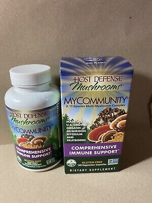 Host Defense My Community Comprehensive Immune Support 120 Caps  stay healthy