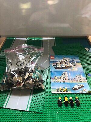 LEGO- TOWN- POLICE- VINTAGE- PIER POLICE- 6540- 100% COMPLETE- NO BOX