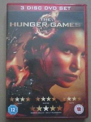 The Hunger Games - 3 Disc DVD Set for sale  Shipping to Nigeria