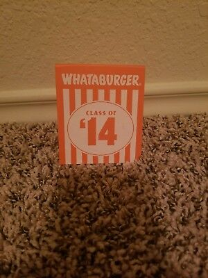 Class Of 2014 Whataburger Tent