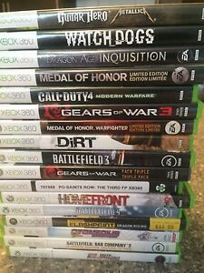 Selling 17 Xbox 360 games for $90 OBO!