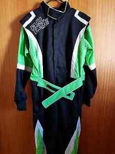 Fire suit plus under wear boot gloves neck brace all brand new Launceston Launceston Area Preview