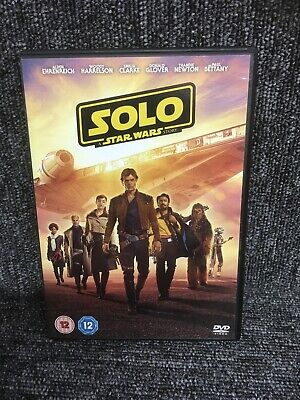 Solo - A Star Wars Story DVD. Excellent Condition. Uk Release. Freepost In Uk.