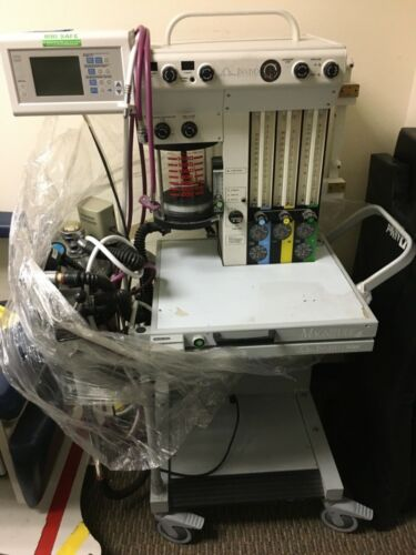 DRAGER MAGNITUDE INVIVO MRI SAFE ANESTHESIA MACHINE