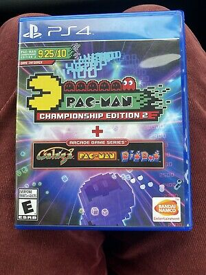 🔥Pac-Man Championship Edition 2 Arcade Game Series Sony PS4 EXCELLENT CONDITION