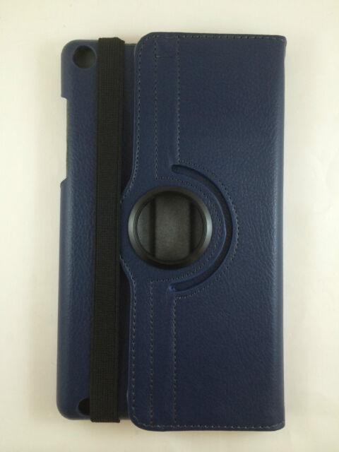 "COVER + GLASS TEMPERED TABLET BQ EDISON 3 MINI 8"" SWIVEL 360º BLUE DARK"