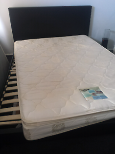 Queen size Leather Bed Suite Doveton Casey Area Preview