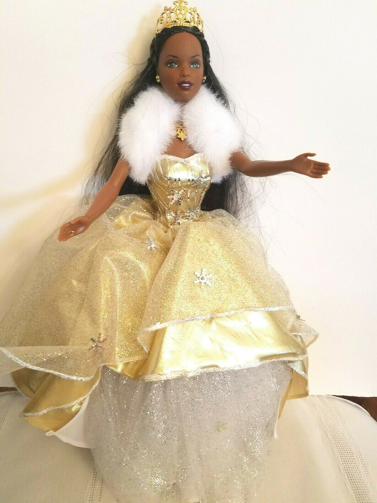 Christmas Celebration Barbie African American 2002 - $9.99