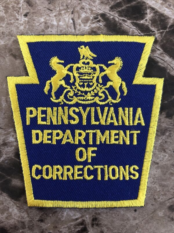 Pennsylvania Department of Corrections Police Shoulder Patch