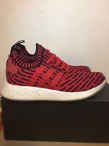 Adidas NMD R2 Core Red - size 8 men
